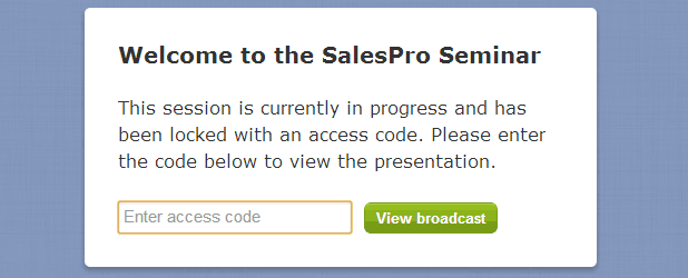 broadcast restrictions viewer page