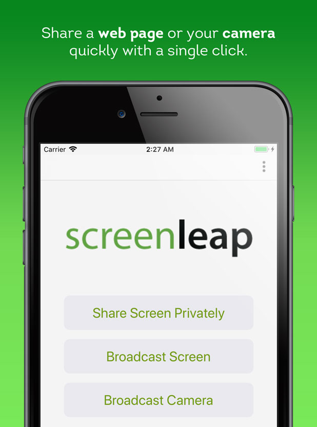 Screenleap Now Available For iOS (iPhone/iPad) - Screenleap Blog